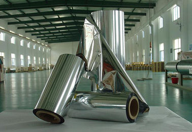 Grubość 0,009-0,03 mm Jumbo Roll Industrial Aluminium Foil For Wrapping Materials