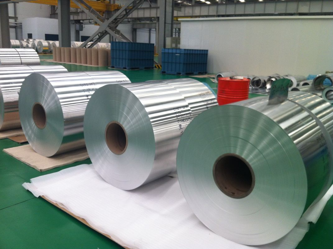 Industrial Standard Aluminum Decorative Foil Alloy 1100/1235 / 8011